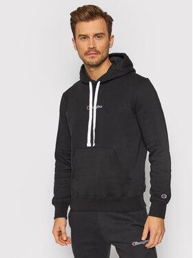 Champion Champion Sweatshirt Athletic Digital Print 216961 Noir Comfort Fit