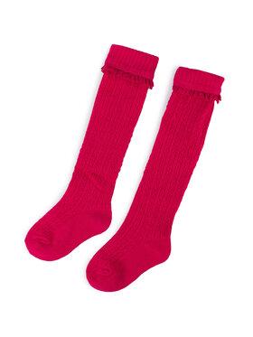 Mayoral Mayoral Vysoké dětské ponožky 10679 Růžová