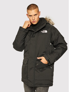 The North Face The North Face Зимно яке Recycled Mcmurdo NF0A4M8GJK31 Черен Regular Fit