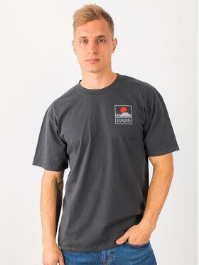 Edwin Edwin T-shirt Sunset On Mt Fuji Ts I025881 TG372M4 EBN67 Gris Regular Fit
