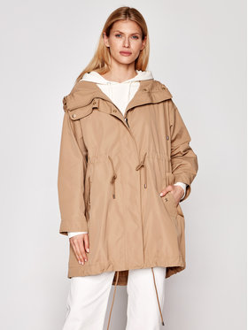 Weekend Max Mara Weekend Max Mara Parka Coccole 50210317 Marron Regular Fit