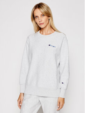 Champion Champion Sweatshirt Small Script Logo 113151 Grau Regular Fit