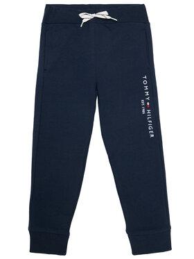 TOMMY HILFIGER TOMMY HILFIGER Teplákové kalhoty Essential KB0KB05864 M Tmavomodrá Regular Fit