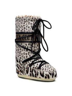 Moon Boot Moon Boot Μπότες Χιονιού Animal 14026200001 Μπεζ