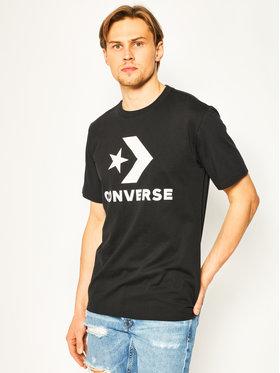 Converse Converse T-Shirt Star Chevron Tee 10018568-A01 Czarny Regular Fit