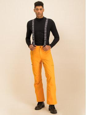 Spyder Spyder Pantaloni da sci Dare 191026 Arancione Regular Fit