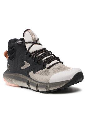 Salomon Salomon Chaussures de trekking Predict Hike Mid Gtx W GORE-TEX 414605 20 V0 Noir