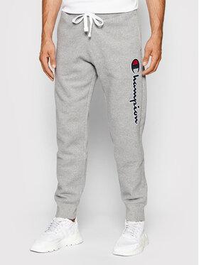 Champion Champion Pantaloni da tuta Blend Vertical Script Logo 216472 Grigio Regular Fit