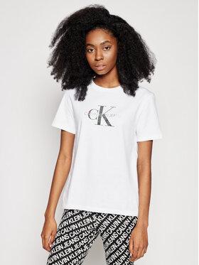 Calvin Klein Jeans Calvin Klein Jeans Tricou J20J215316 Alb Regular Fit