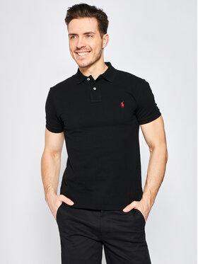 Polo Ralph Lauren Polo Ralph Lauren Pólóing Core Replen 710795080 Fekete Slim Fit