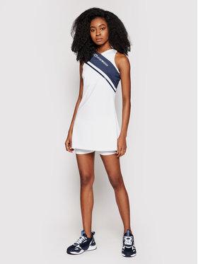 EA7 Emporio Armani EA7 Emporio Armani Tenisové šaty 3KTA57 TJ56Z 1100 Bílá Regular Fit