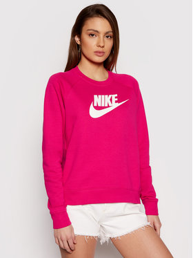 Nike Nike Mikina Essential Crew BV4112 Ružová Standard Fit
