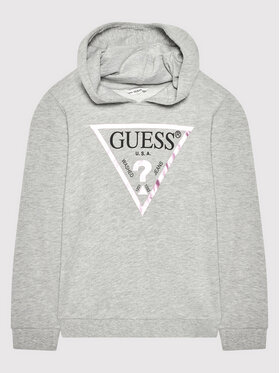 Guess Guess Bluză J83Q14 KAUG0 Gri Regular Fit