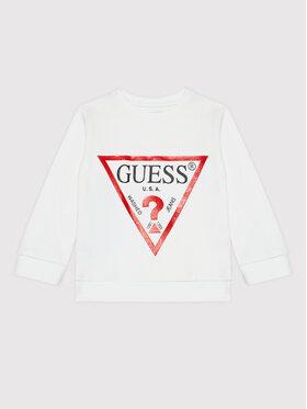 Guess Guess Μπλούζα N73Q10 KAUG0 Λευκό Regular Fit