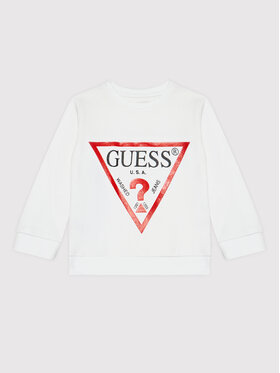 Guess Guess Суитшърт N73Q10 KAUG0 Бял Regular Fit