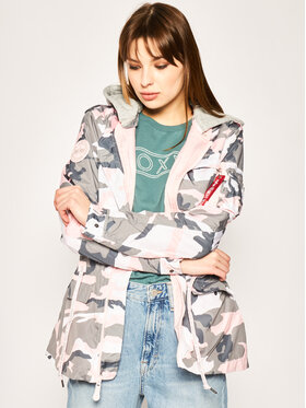 Alpha Industries Alpha Industries Veste de mi-saison Hooded LW Field Jacket Wmn 126009 Multicolore Regular Fit