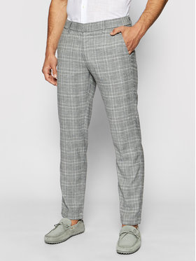 Pierre Cardin Pierre Cardin Текстилни панталони 3520/000/4911 Сив Regular Fit