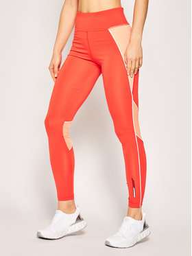 Tommy Sport Tommy Sport Leggings Donna S10S100514 Rot Slim Fit