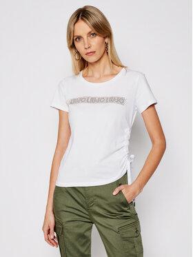 Liu Jo Liu Jo T-shirt TA1193 J5923 Bijela Regular Fit