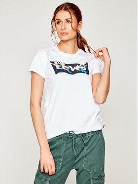 Levi's® Levi's® T-Shirt The Perfect Graphic Tee 17369-0794 Bílá Regular Fit