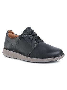 Clarks Clarks Pantofi Un LarvikLace2 261550847 Negru