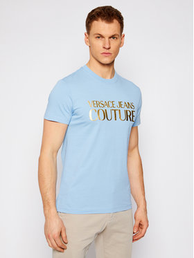 Versace Jeans Couture Versace Jeans Couture Póló B3GWA7TB Kék Slim Fit