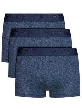 Levi's® Levi's® Sada 3 párů boxerek 905042001 Tmavomodrá