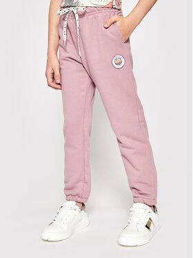 Femi Stories Femi Stories Teplákové kalhoty Oksa Růžová Regular Fit