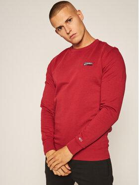 Tommy Jeans Tommy Jeans Džemperis Washed Corp DM0DM08413 Raudona Regular Fit