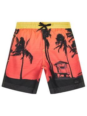 Quiksilver Quiksilver Pantaloni scurți pentru înot Paradise 15 EQBJV03281 Roșu Regular Fit
