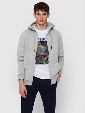 Only & Sons ONLY & SONS Mikina Ceres 22018684 Sivá Regular Fit