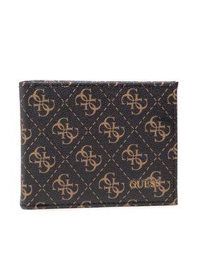 Guess Guess Velká pánská peněženka Vezzola (4G Logo Basique) SLG SMVEZL LEA27 Hnědá