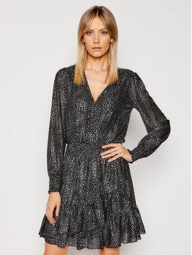 MICHAEL Michael Kors MICHAEL Michael Kors Коктейлна рокля MH08XEYG7Y Черен Regular Fit