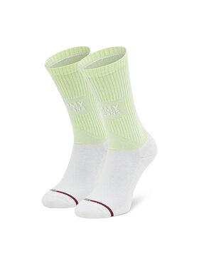Tommy Jeans Tommy Jeans Ženske visoke čarape 701210559 Bijela