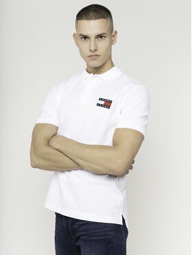 Tommy Jeans Tommy Jeans Polo Tjw Badge DM0DM07456 Blanc Regular Fit