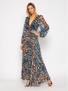 Marciano Guess Marciano Guess Φόρεμα βραδινό Printed Polly 0BG739 7120Z Έγχρωμο Regular Fit
