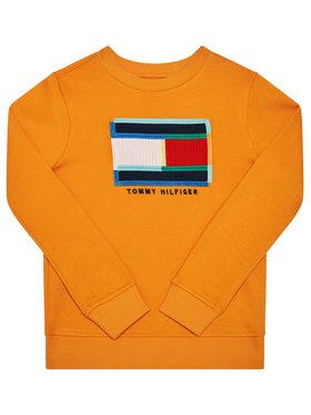 TOMMY HILFIGER TOMMY HILFIGER Bluză Fun Artwork Cn KB0KB05803 D Portocaliu Regular Fit