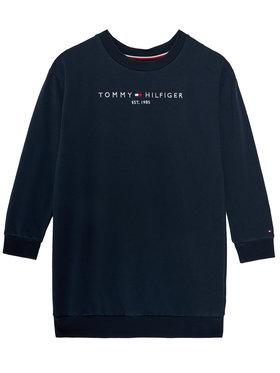 TOMMY HILFIGER TOMMY HILFIGER Sukienka codzienna Essential KG0KG05449 D Granatowy Regular Fit
