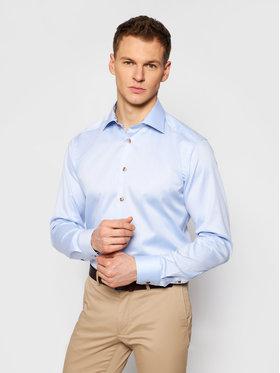 Eton Eton Košile 100003019 Modrá Slim Fit
