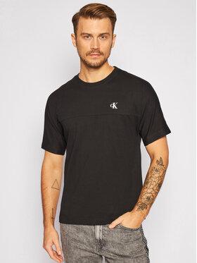 Calvin Klein Jeans Calvin Klein Jeans T-Shirt J30J315738 Schwarz Regular Fit
