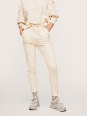 Mango Mango Spodnie dresowe Spniza 17035937 Beżowy Super Skinny Fit