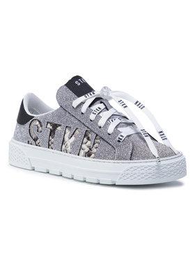 Stokton Stokton Sneakers Thunder-D Silberfarben