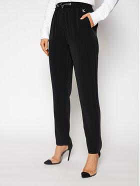 Calvin Klein Jeans Calvin Klein Jeans Pantalon en tissu J20J215029 Noir Regular Fit