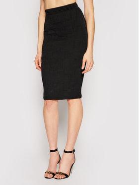 Elisabetta Franchi Elisabetta Franchi Pouzdrová sukně GK-32Q-11E2-V300 Černá Slim Fit