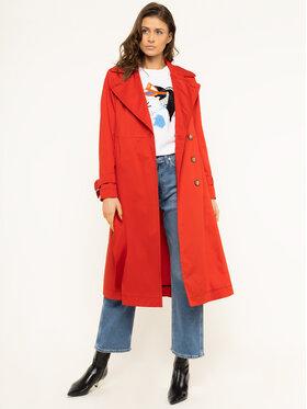 Sportmax Code Sportmax Code Trench-coat Gang 70210202 Rouge Regular Fit