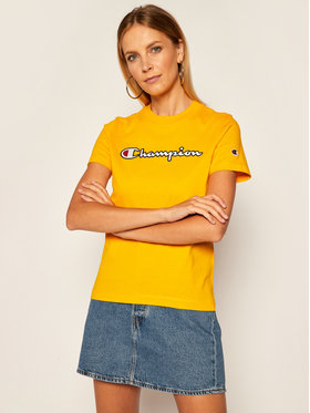 Champion Champion T-Shirt Tee 113194 Gelb Regular Fit