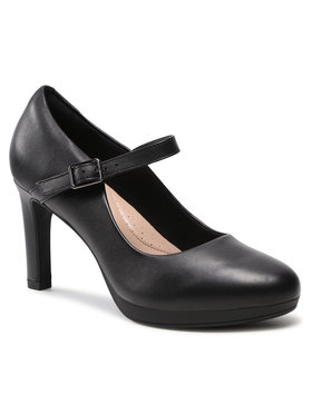 Clarks Clarks Обувки Ambyr Shine 261577844 Черен
