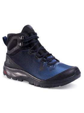 Salomon Salomon Trekingová obuv GORE-TEX Vaya Mid Gtx 409851 24 V0 Tmavomodrá