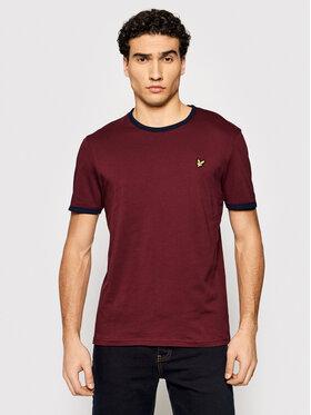 Lyle & Scott Lyle & Scott T-Shirt Ringer TS705V Dunkelrot Regular Fit
