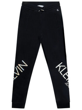 Calvin Klein Jeans Calvin Klein Jeans Παντελόνι φόρμας Hero Logo IG0IG00556 Μαύρο Regular Fit